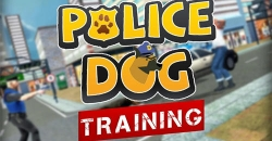 Police dog training simulator