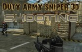 Duty army sniper 3d: Shooting