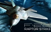 F-22 Raptor strike: Jet fighter