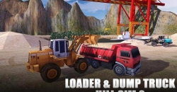 Loader and dump truck hill sim 2