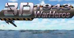 Air combat: Pacific hero. 1943 war heros 3D