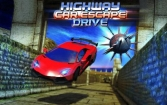 Highway сar escape drive