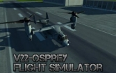 V22 Osprey: Flight simulator