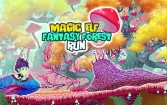 Magic elf fantasy forest run