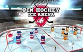 Pin hockey: Ice arena