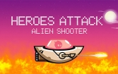 Heroes attack: Alien shooter