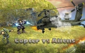 Copter vs aliens