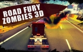 Road fury: Zombies 3D