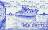 Retro sea battle