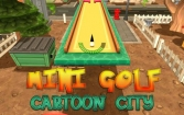 Mini golf: Cartoon city