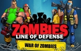 Zombies: Line of defense. War of zombies