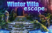 Winter villa escape by dawn