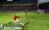 Real football tournament game