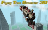 Flying train simulator 3D