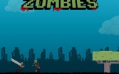 Bloody pixel zombies