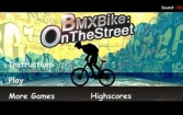 BMX Bike – On the Street