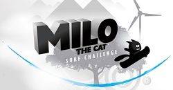 Milo the cat: Surf challenge