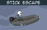 Stick escape: Adventure game
