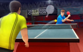 Table tennis champion